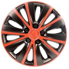 Poklice, RAPIDE RED BLACK 15""