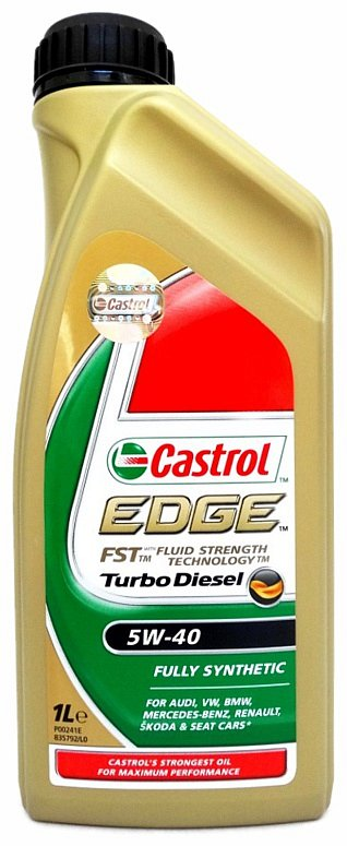 EDGE Turbo Diesel 5W-40 1l, Castrol