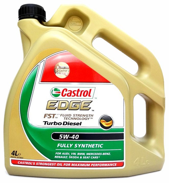 EDGE Turbo Diesel 5W-40 4l, Castrol