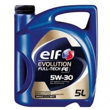 Motorový olej, Elf, Evolution Full-Tech, FE (Solaris DPF) , 5W-30,  5L